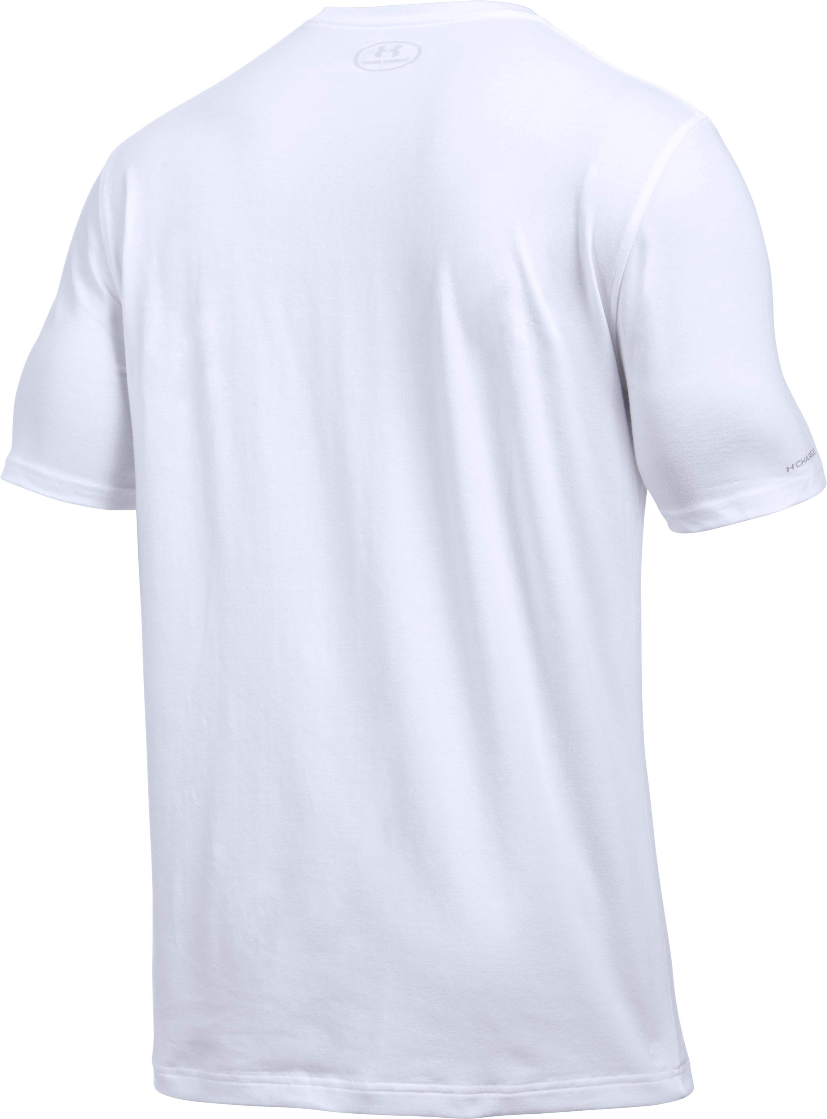 Men's UA Rule All Courts T-Shirt, White,