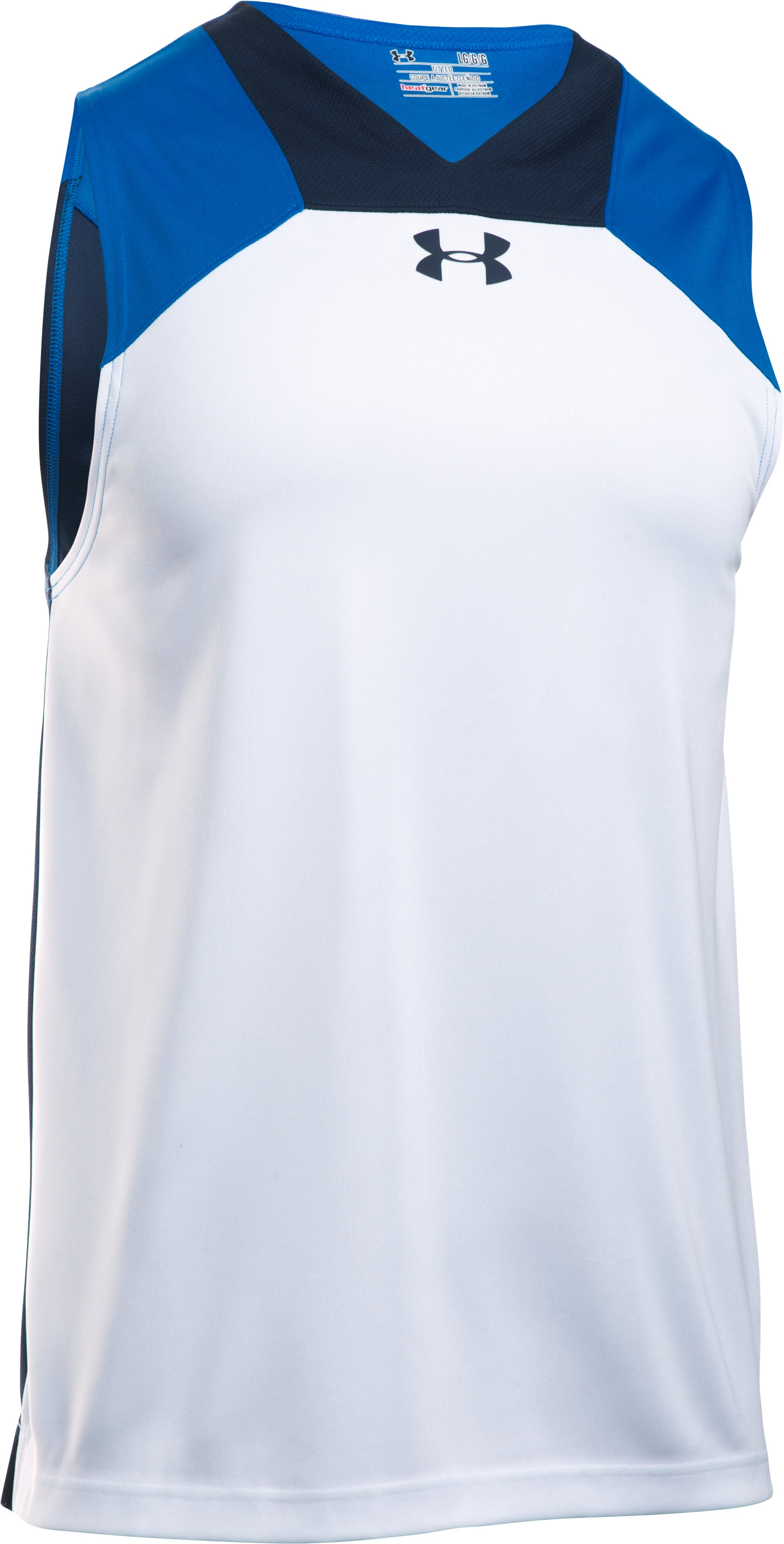 Men's UA Select Tank, White,