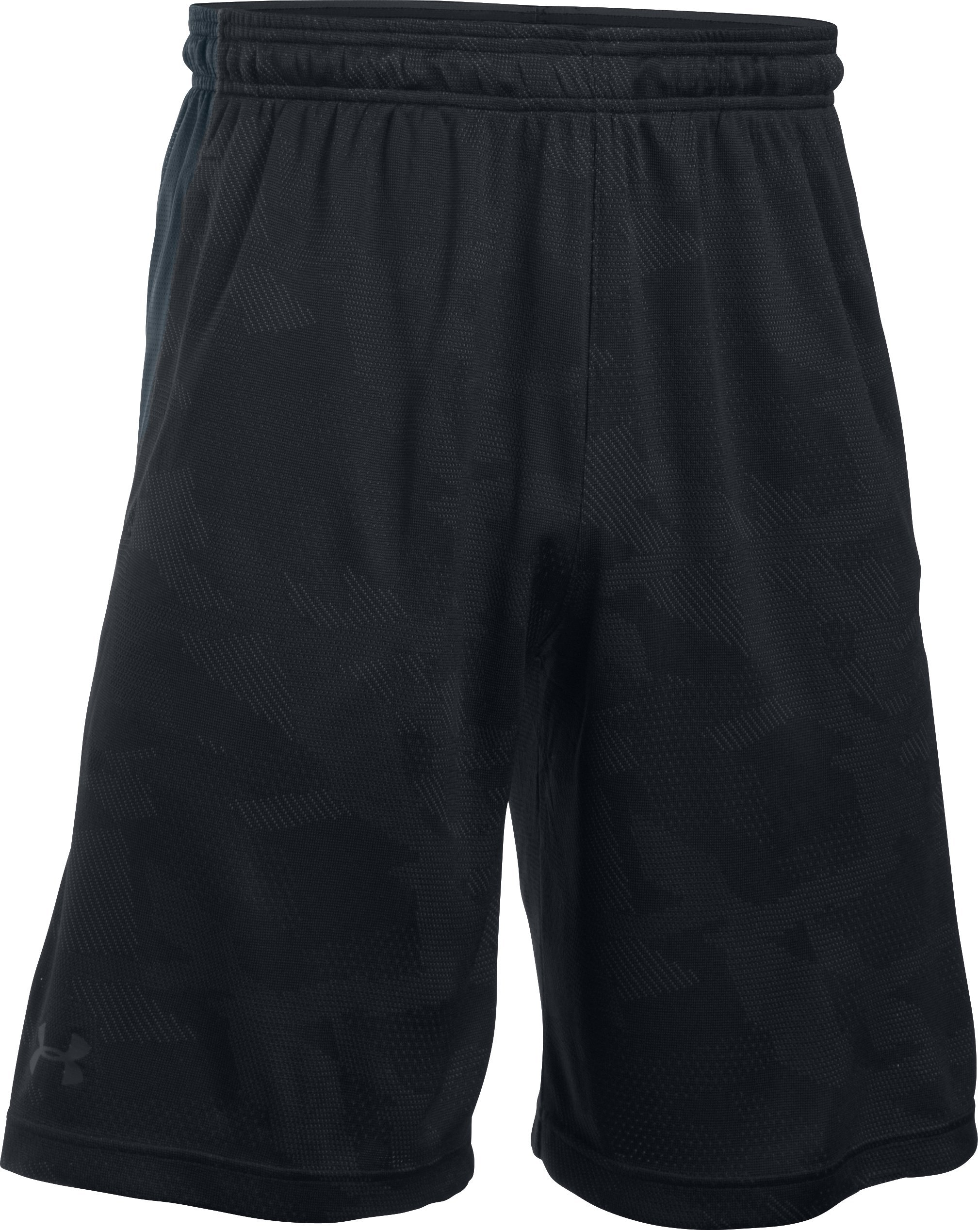 "Men's UA Raid Graphic 10"" Shorts, Black ,"