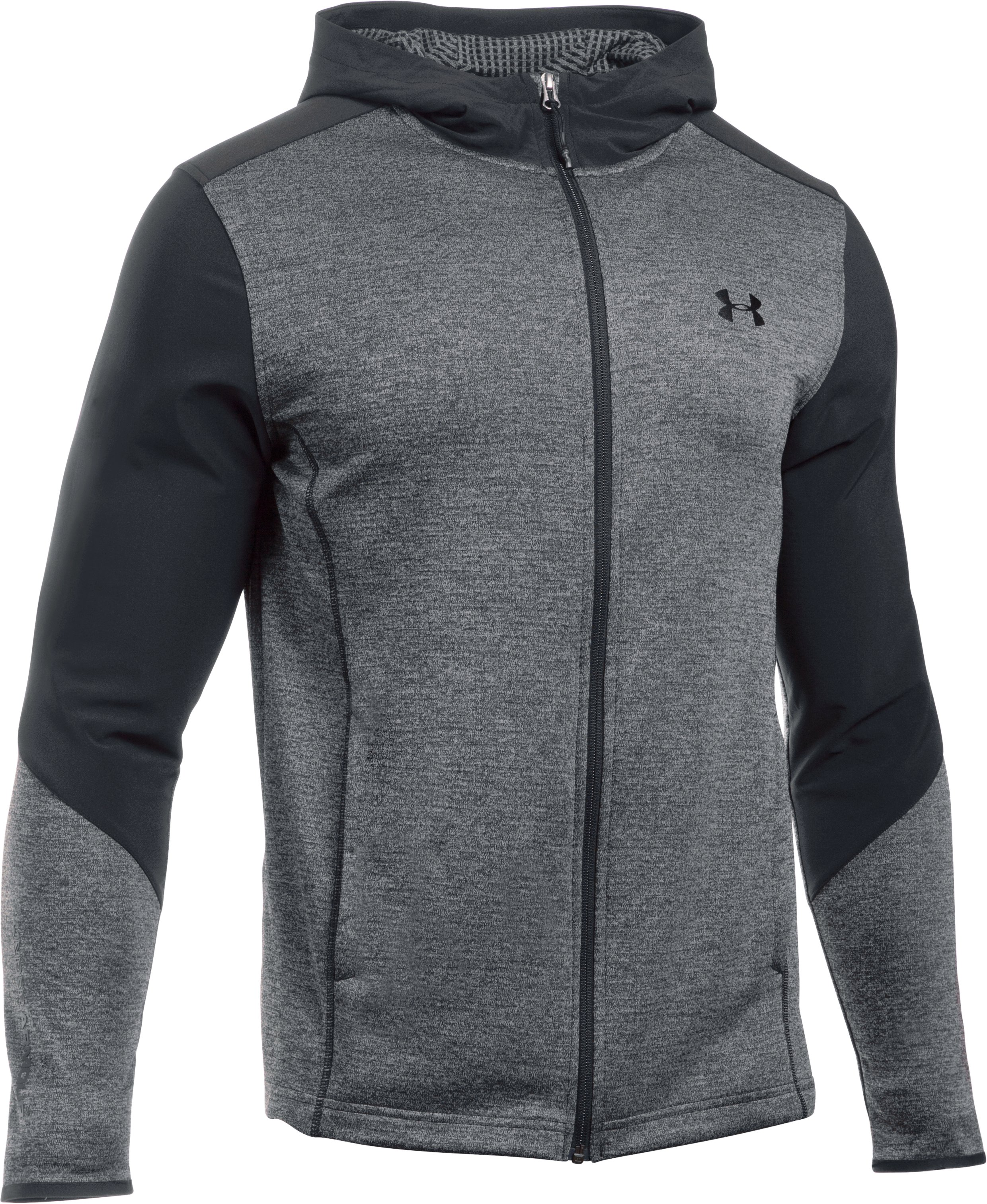 Men's UA ColdGear® Infrared Grid Hoodie, Steel