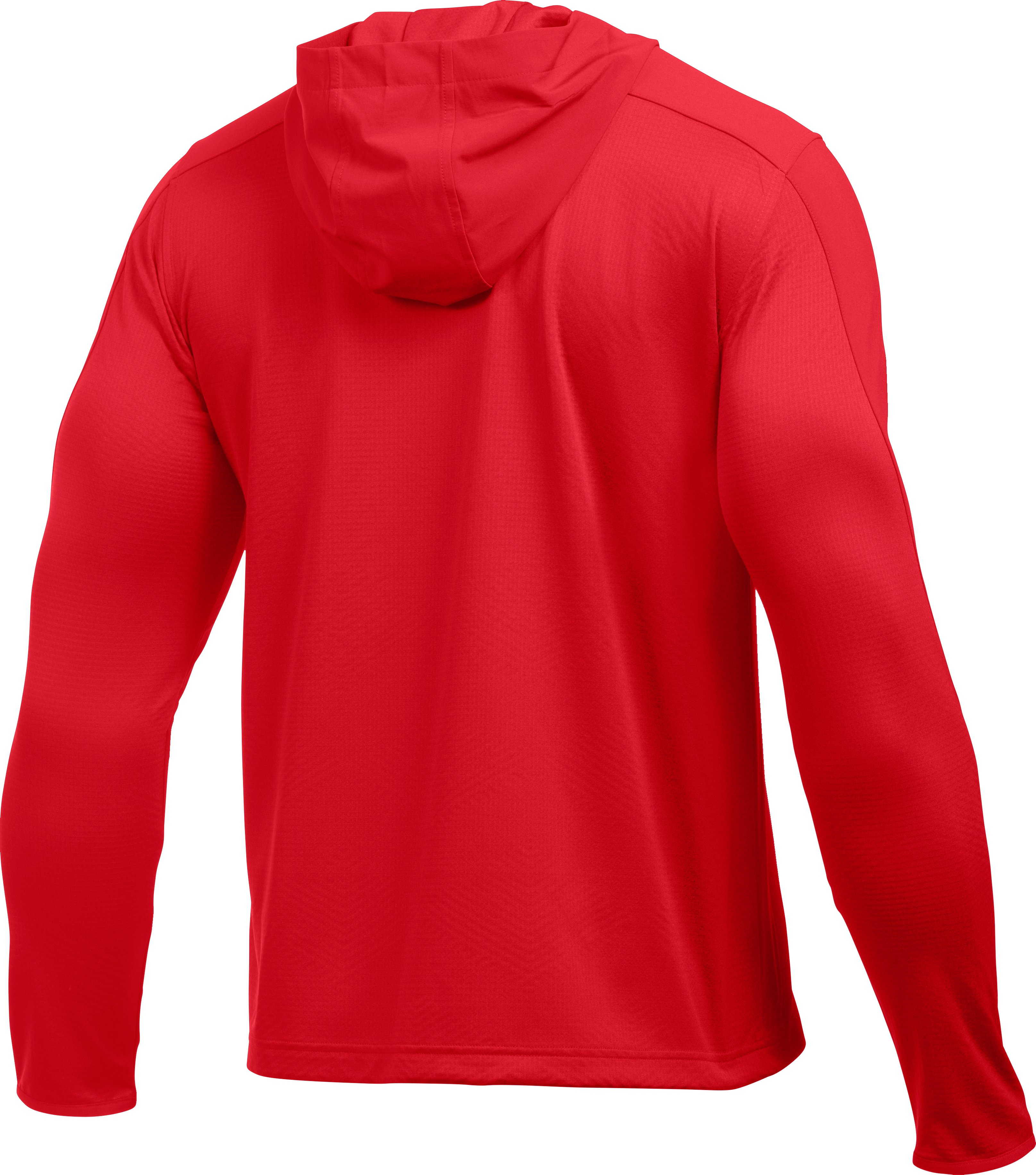 Men's UA ColdGear® Infrared Grid Hoodie, Red