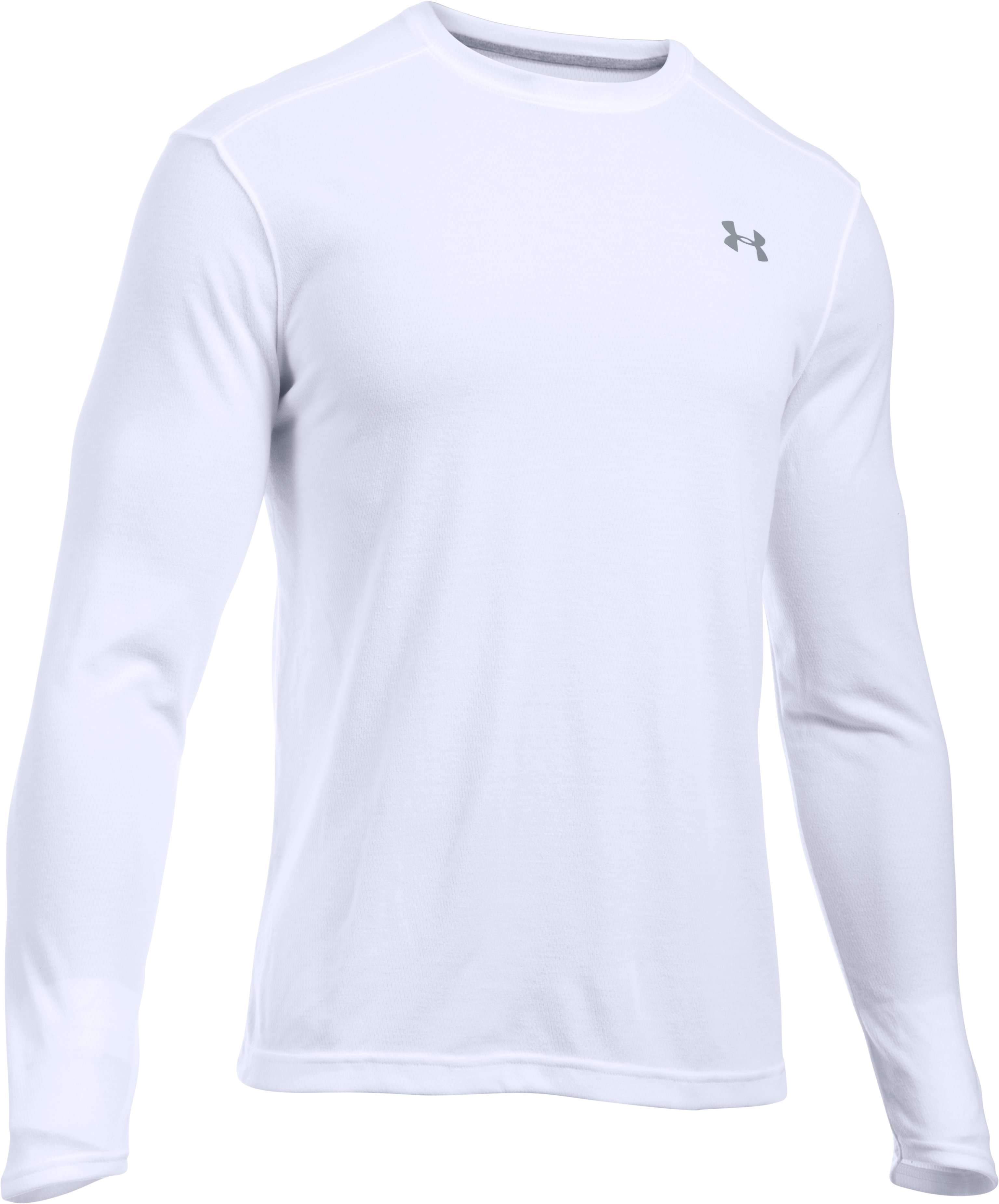 Men's UA ColdGear® Infrared Lightweight T-Shirt, White