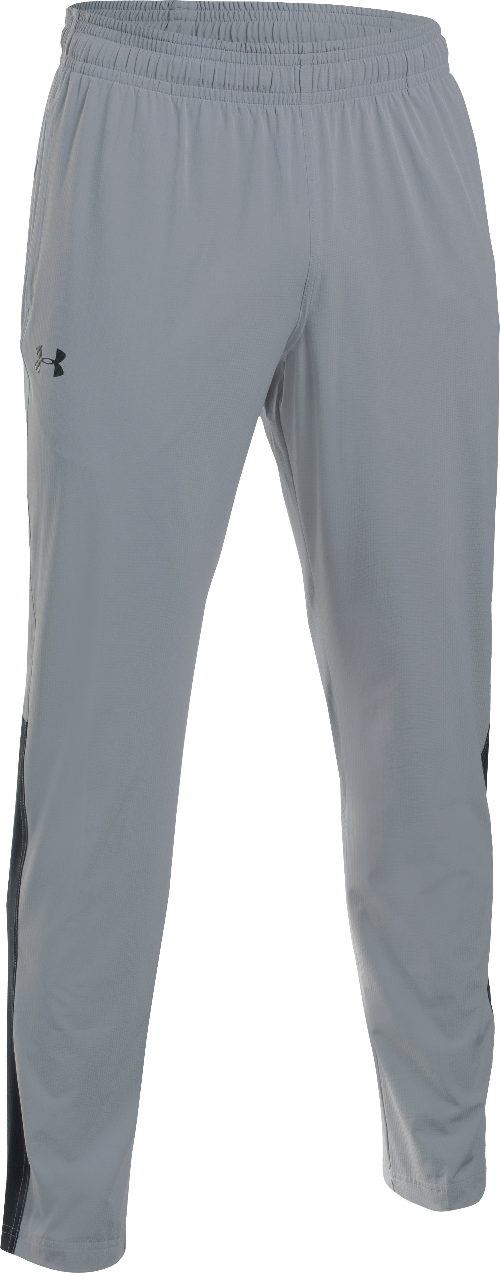 Men's UA Scope Open Hem Pants, Steel, undefined