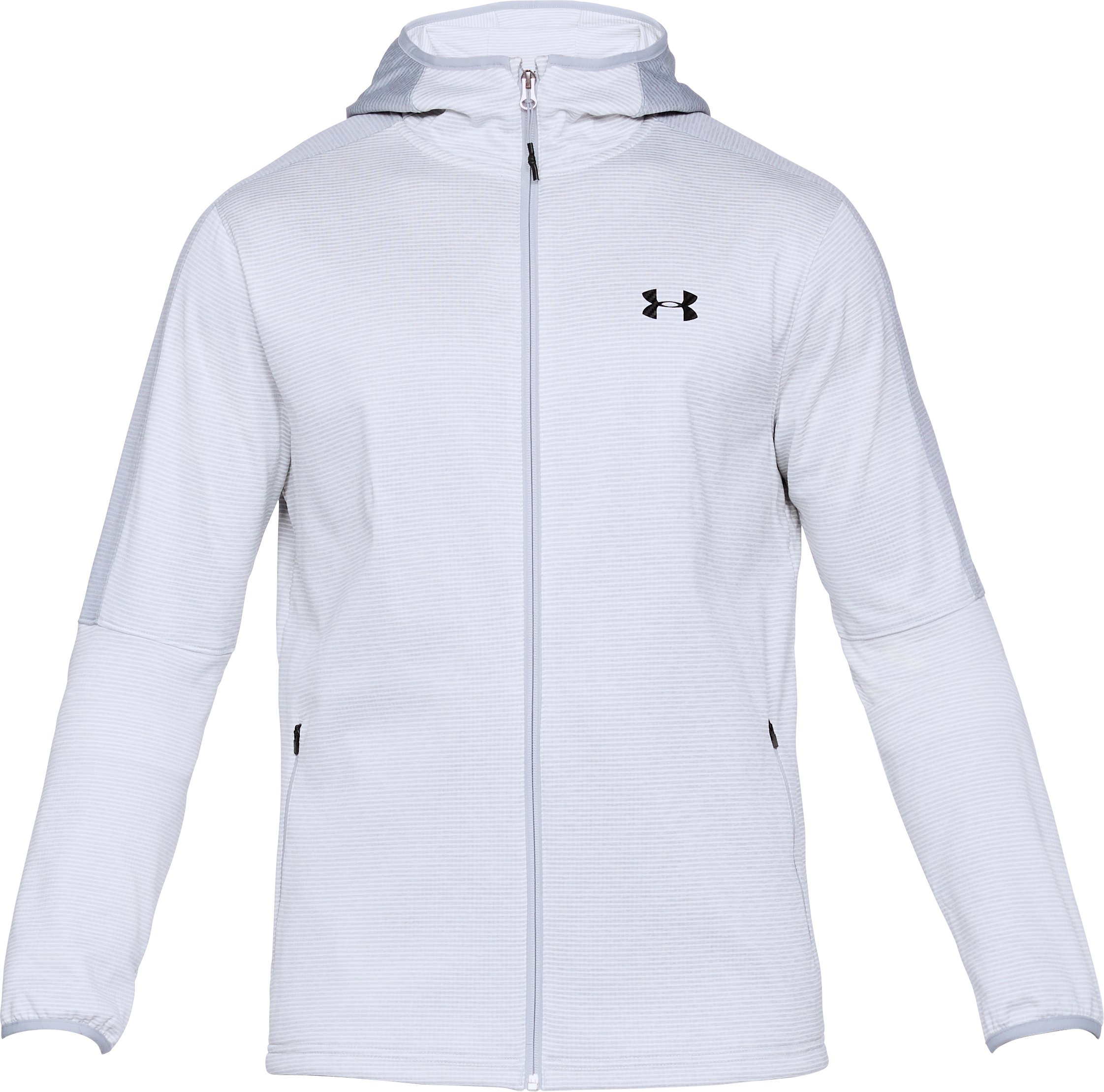 Men's UA Scope Fleece Hoodie, GLACIER GRAY,