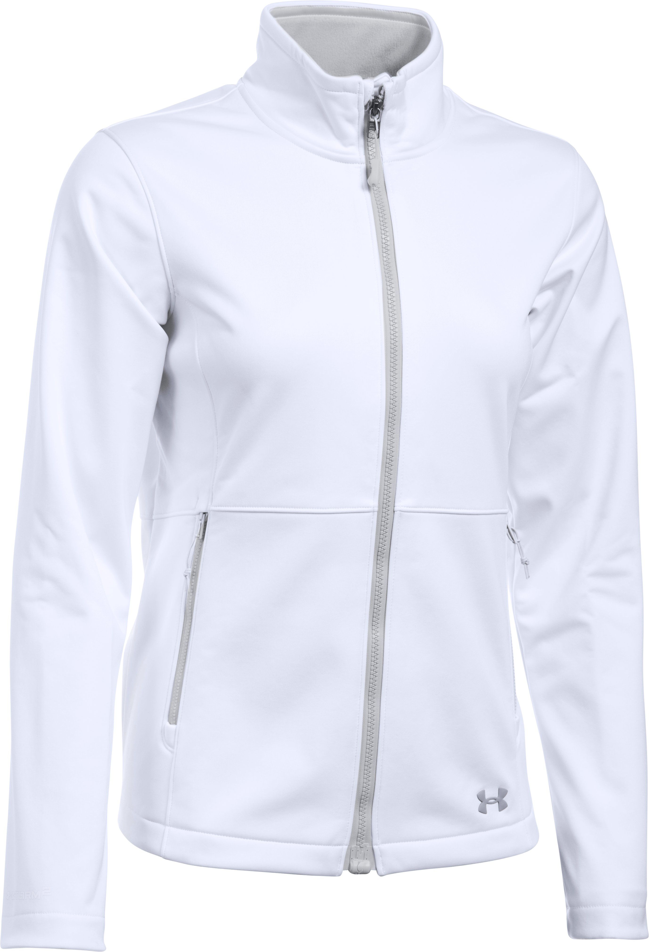 Women's UA ColdGear® Infrared Softershell Jacket, White
