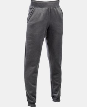 Best Seller Boys' UA Storm Armour® Fleece Jogger  1 Color $49.99