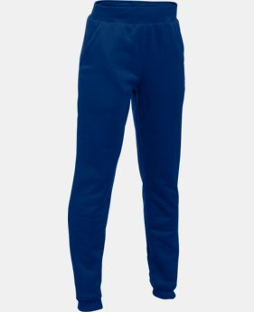 Boys' UA Storm Armour® Fleece Jogger LIMITED TIME OFFER + FREE U.S. SHIPPING 1 Color $26.99 to $37.99