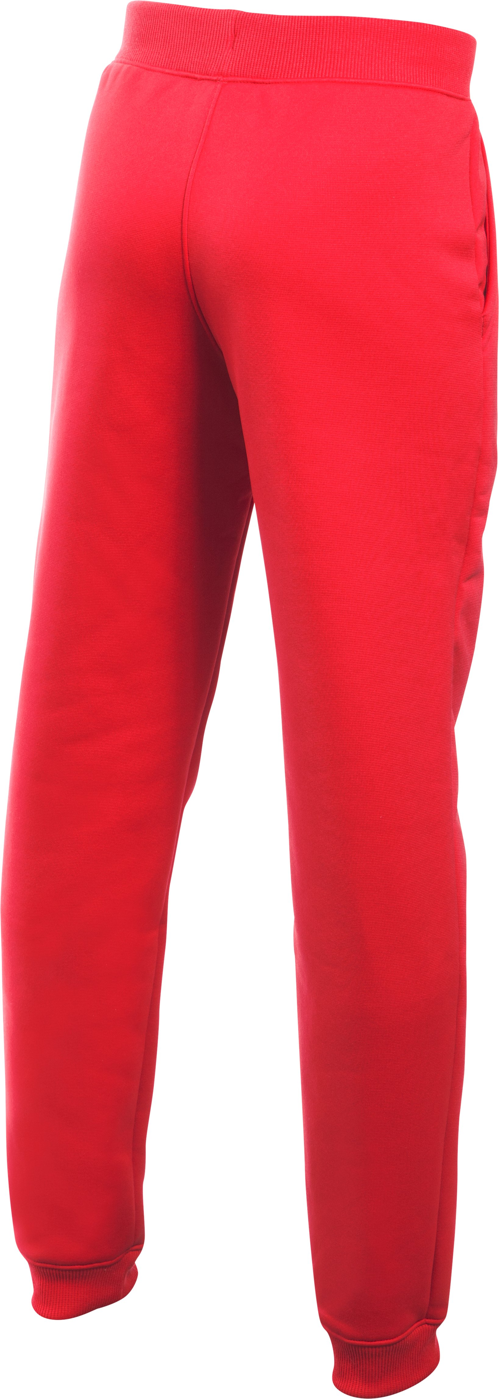 Boys' UA Storm Armour® Fleece Jogger, Red