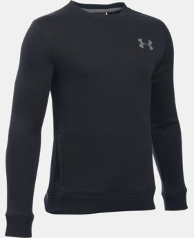 Boys' UA Sportstyle Fleece Crew   $39.99