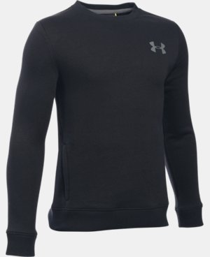 Boys' UA Sportstyle Fleece Crew LIMITED TIME: FREE U.S. SHIPPING 1 Color $39.99
