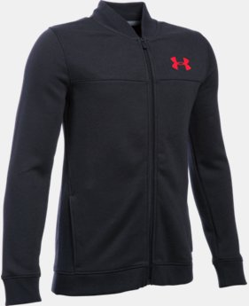 Boys' UA Titan Fleece Bomber  LIMITED TIME: FREE U.S. SHIPPING  $44.99