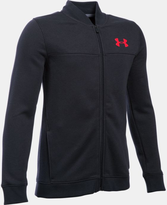 Boys' UA Titan Fleece Bomber    $44.99