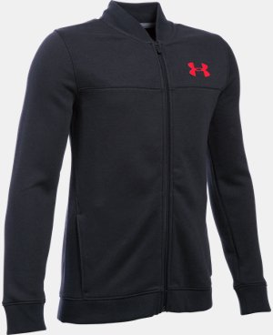 Boys' UA Titan Fleece Bomber  LIMITED TIME: FREE SHIPPING  $44.99