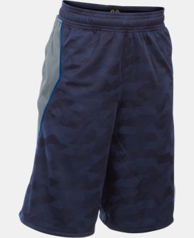 Boys' SC30 Essentials Printed Shorts  1 Color $39.99