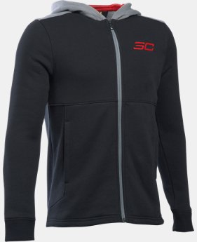 Boys' SC30 Essentials Full Zip Hoodie