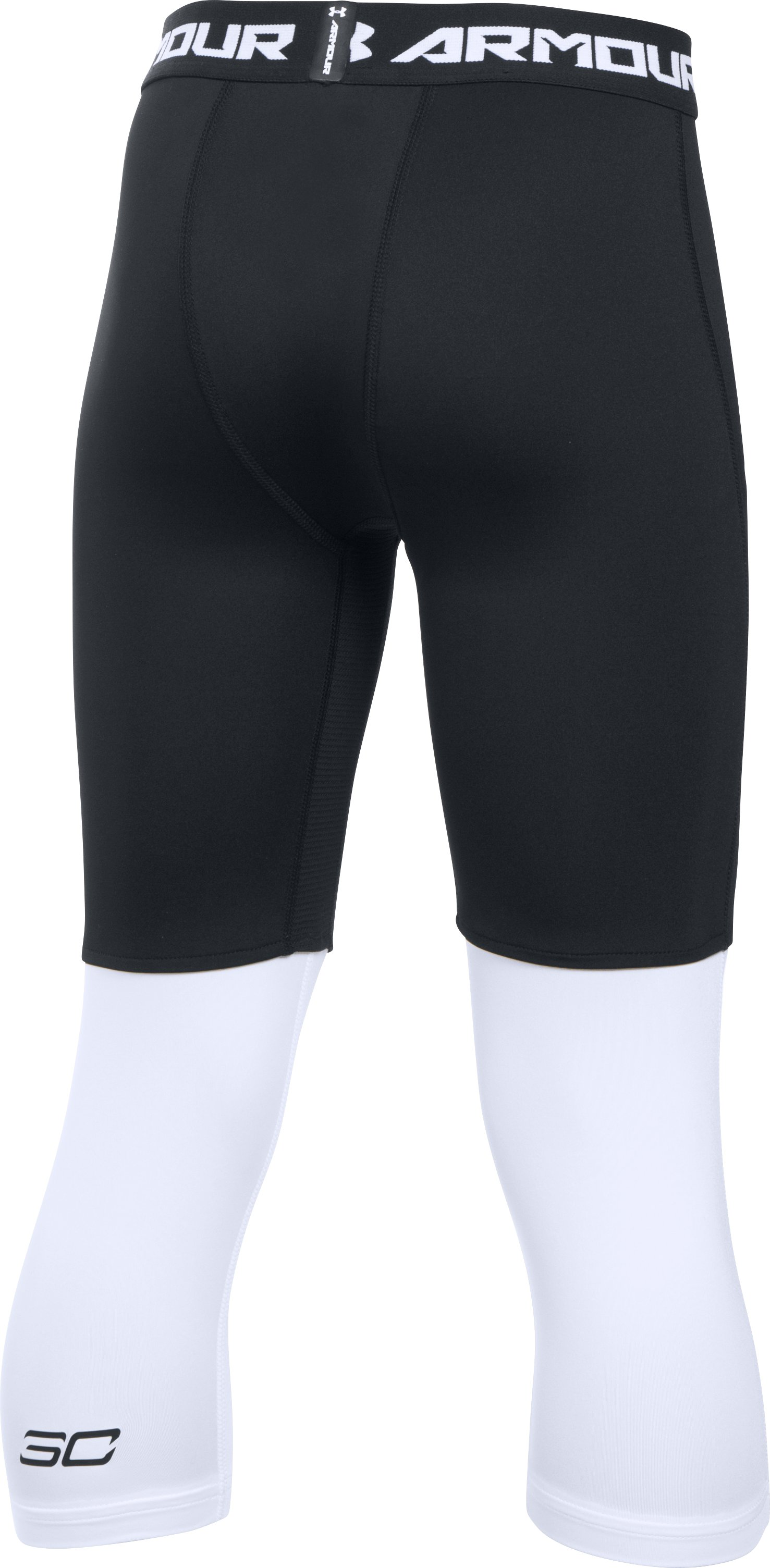 Boys' SC30 Essentials 3/4 Leggings, Black