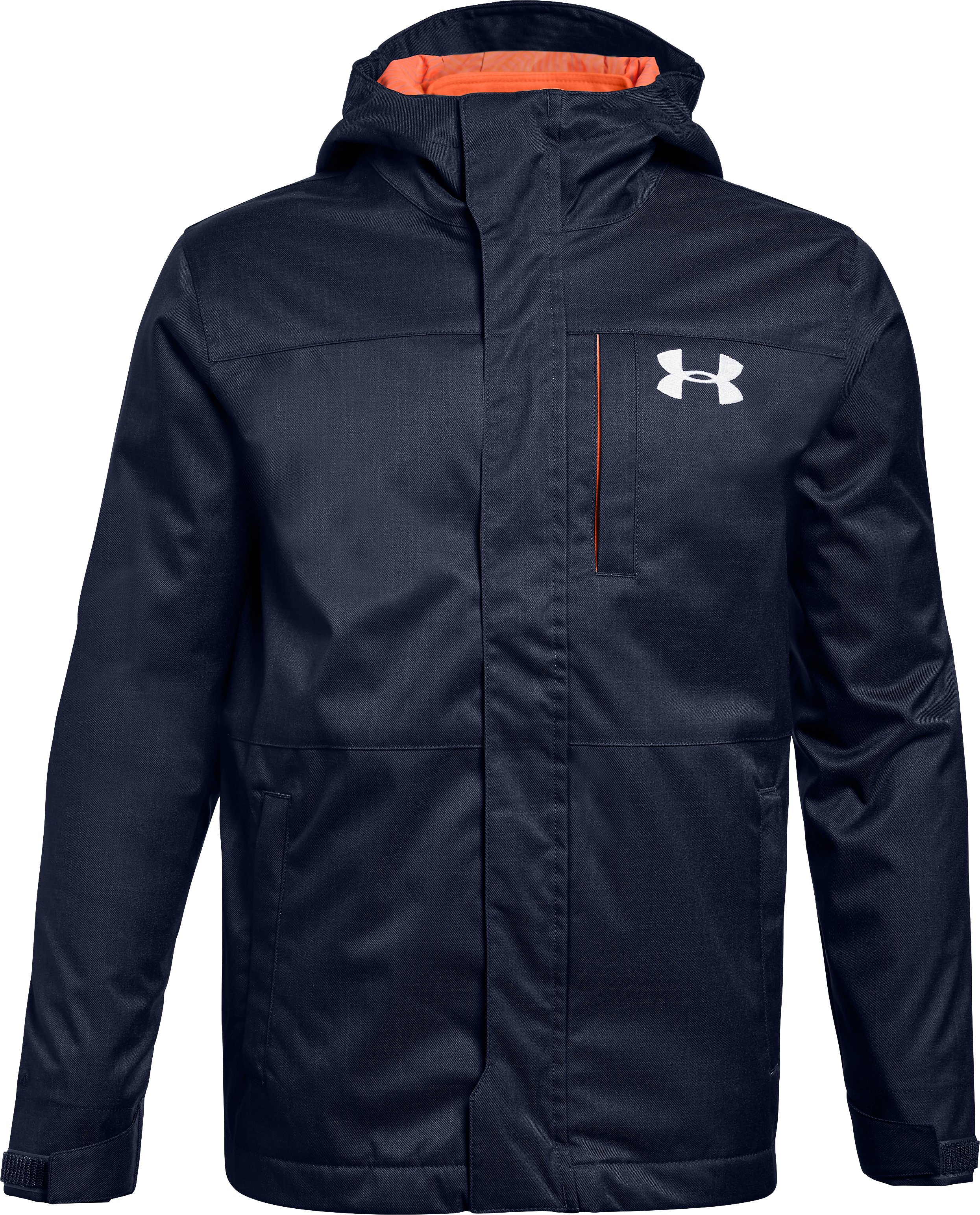 Boys' UA Storm Wildwood 3-in-1 Jacket, Midnight Navy,