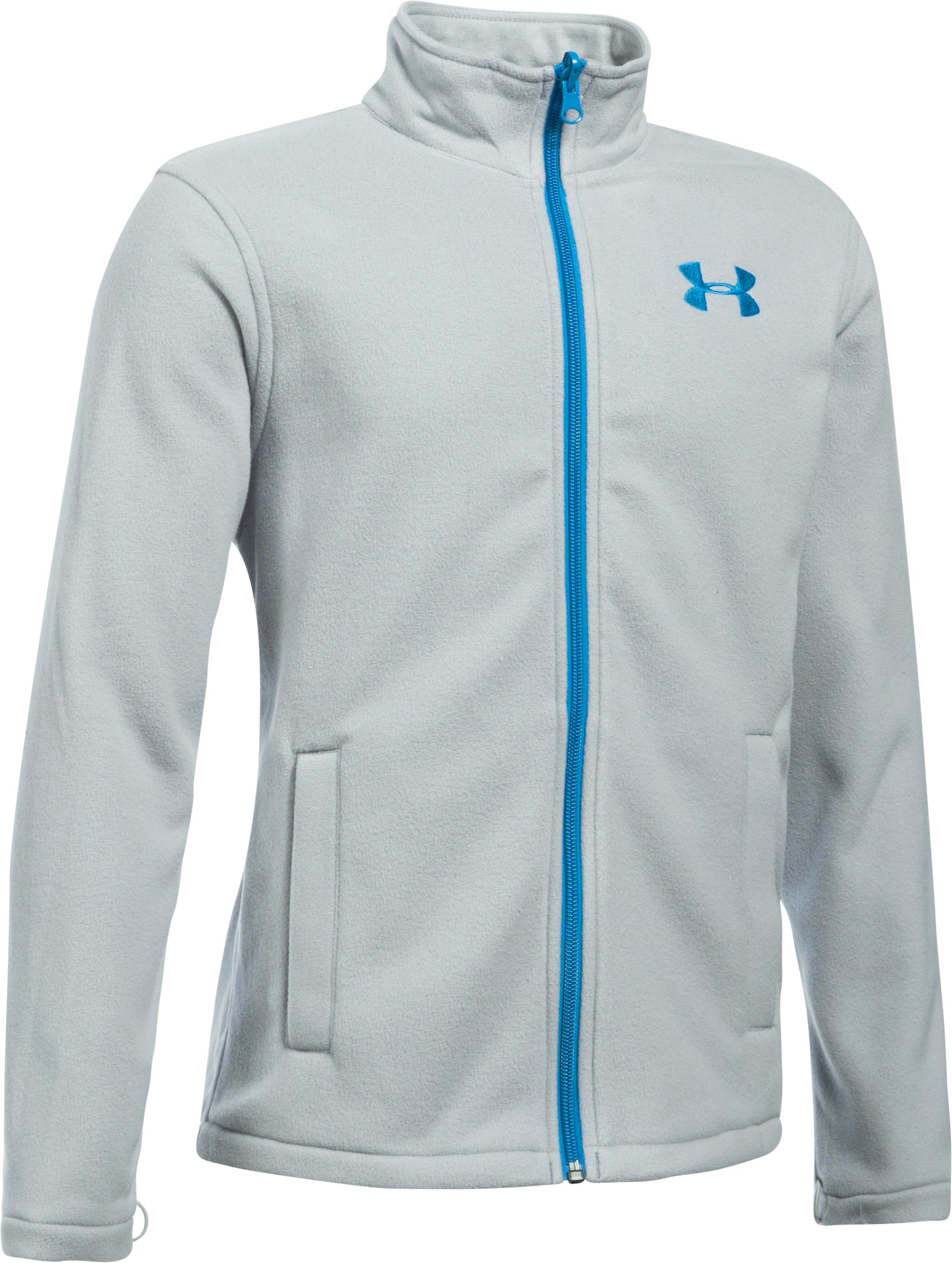 Boys' UA Storm Wildwood 3-in-1 Jacket, MAKO BLUE,