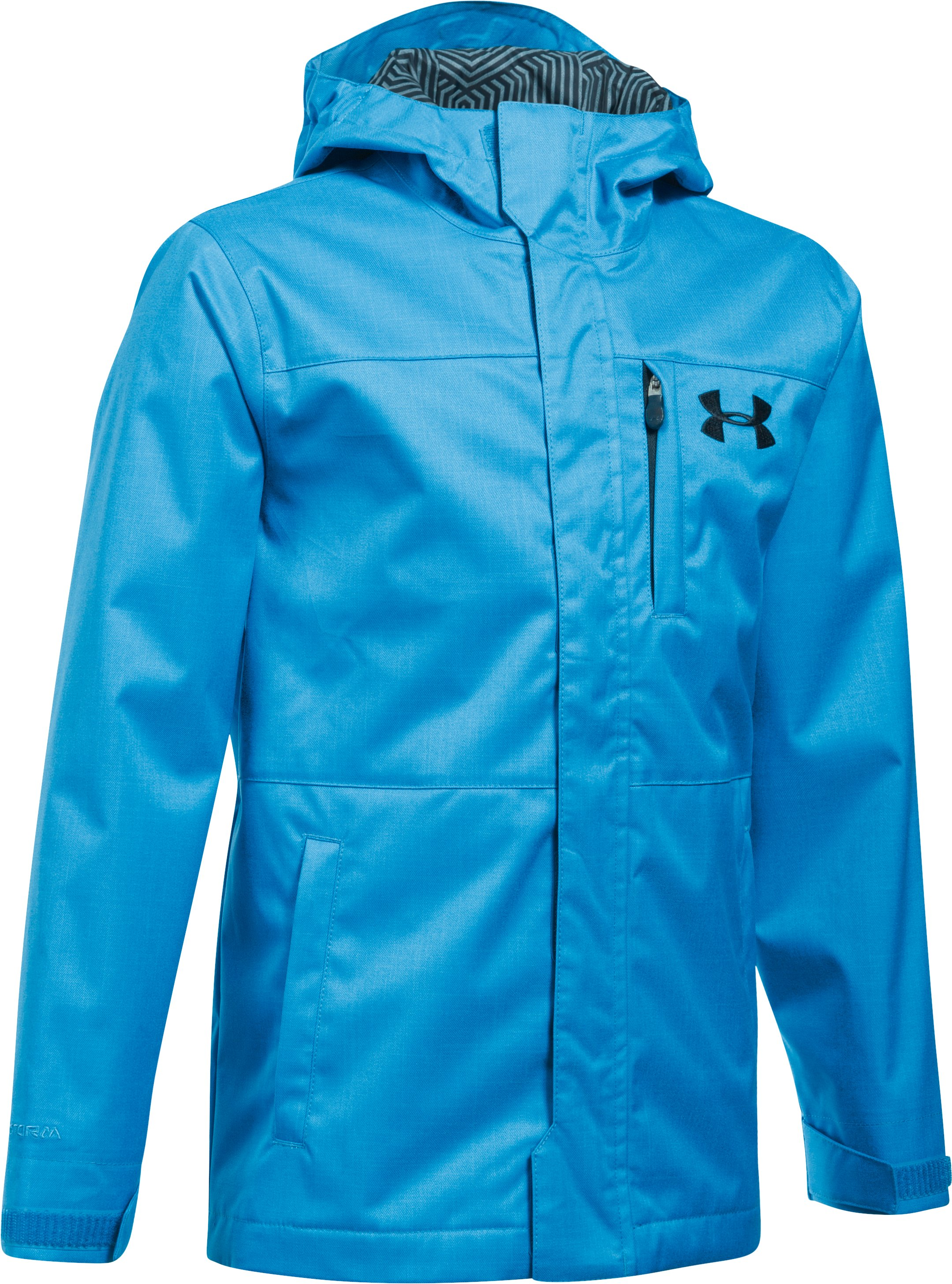 Boys' UA Storm Wildwood 3-in-1 Jacket, MAKO BLUE, undefined