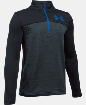 New Arrival  Boys' UA Expanse ¼ Zip LIMITED TIME: FREE SHIPPING 1 Color $59.99