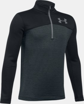 Boys' UA Expanse ¼ Zip  1 Color $29.99