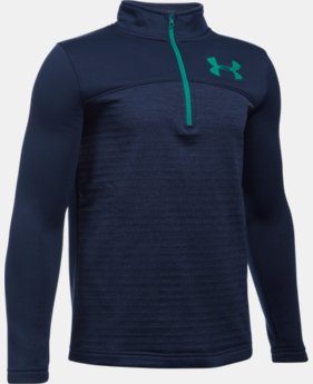Boys' UA Storm Armour® Fleece  Expanse 1/4 Zip LIMITED TIME: FREE U.S. SHIPPING 1 Color $49.99