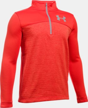 Boys' UA Storm Armour® Fleece  Expanse 1/4 Zip  1 Color $49.99