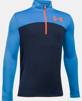 Boys' UA Expanse ¼ Zip  1 Color $59.99
