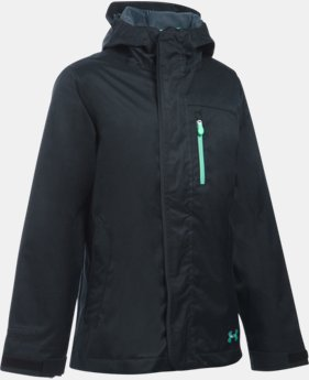 New Arrival  Girls' UA ColdGear® Infrared Gemma 3-in-1 Jacket  4 Colors $159.99