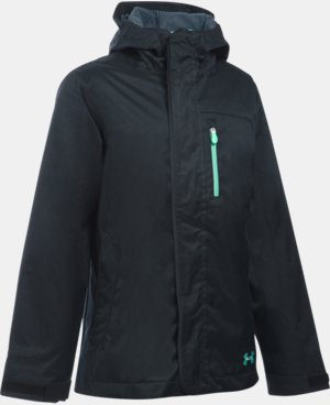 Girls' UA ColdGear® Infrared Gemma 3-in-1 Jacket  3 Colors $119.99 to $159.99
