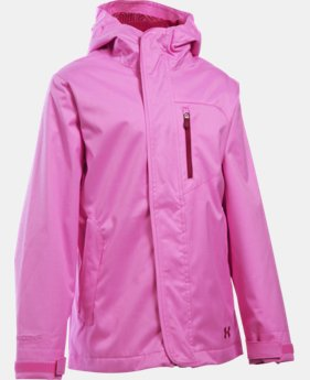 New Arrival  Girls' UA ColdGear® Infrared Gemma 3-in-1 Jacket   $159.99