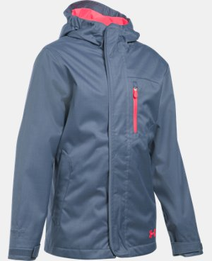 Girls' UA ColdGear® Infrared Gemma 3-in-1 Jacket LIMITED TIME: 20% OFF 2 Colors $159.99
