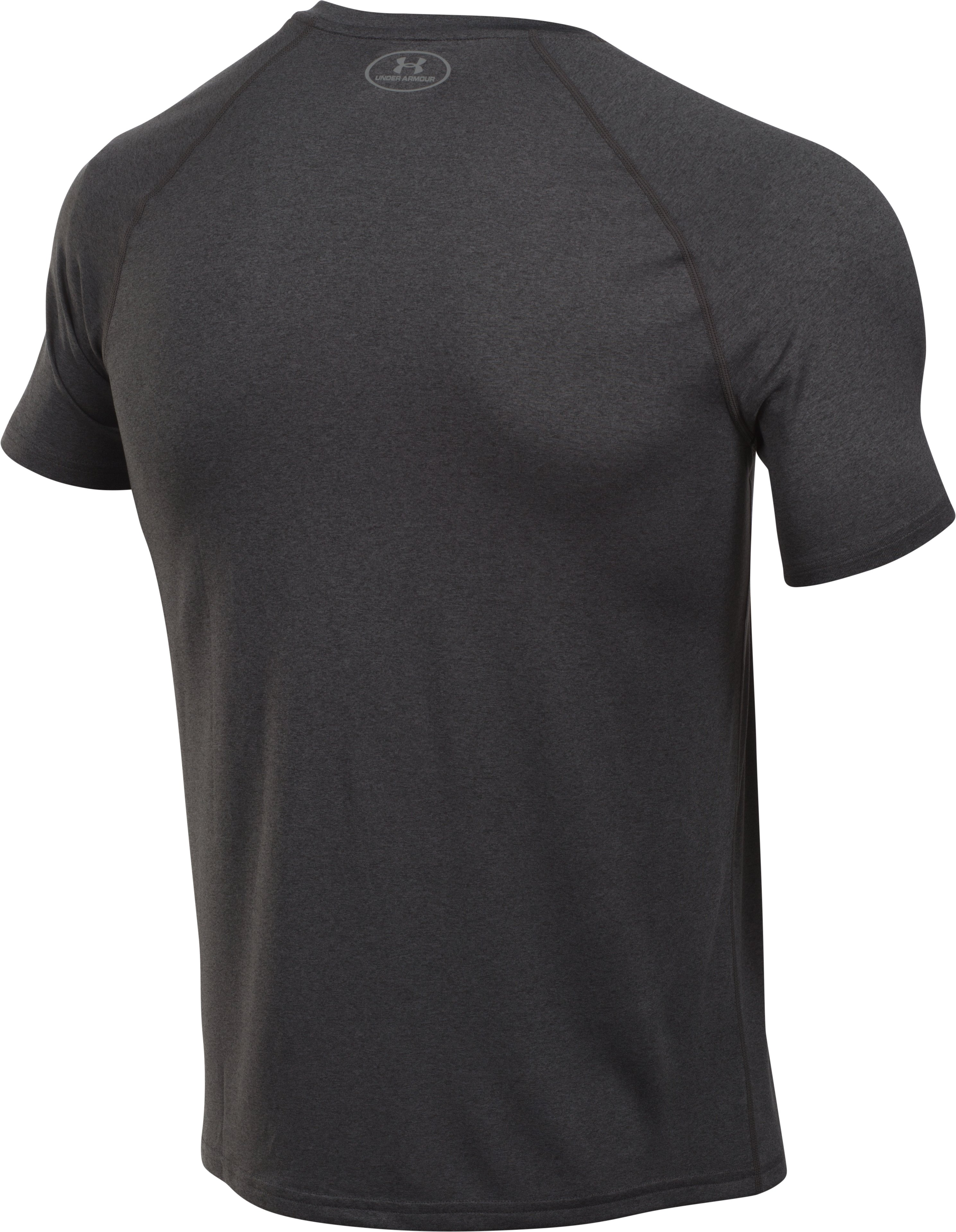 Men's UA Run T-Shirt, Carbon Heather, undefined