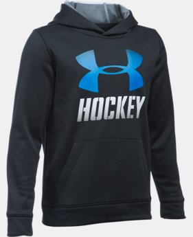 New Arrival  Boys' UA Hockey Hoodie   1 Color $59.99