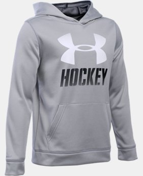 Boys' UA Hockey Hoodie  LIMITED TIME: FREE U.S. SHIPPING 1 Color $49.99