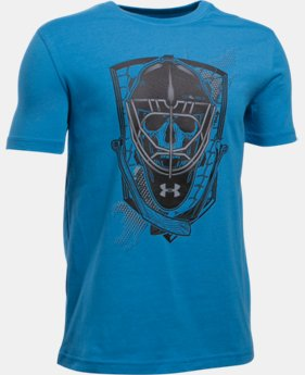 New Arrival  Boys' UA Goal Hard T-Shirt    $25.99
