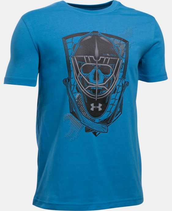 Boys' UA Goal Hard T-Shirt   1 Color $25.99