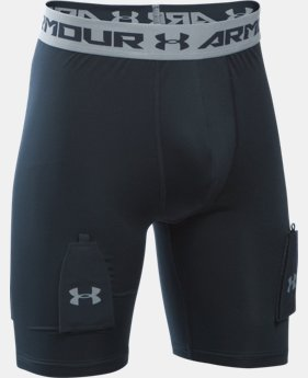 Boys' UA Purestrike Shorts w/ Cup