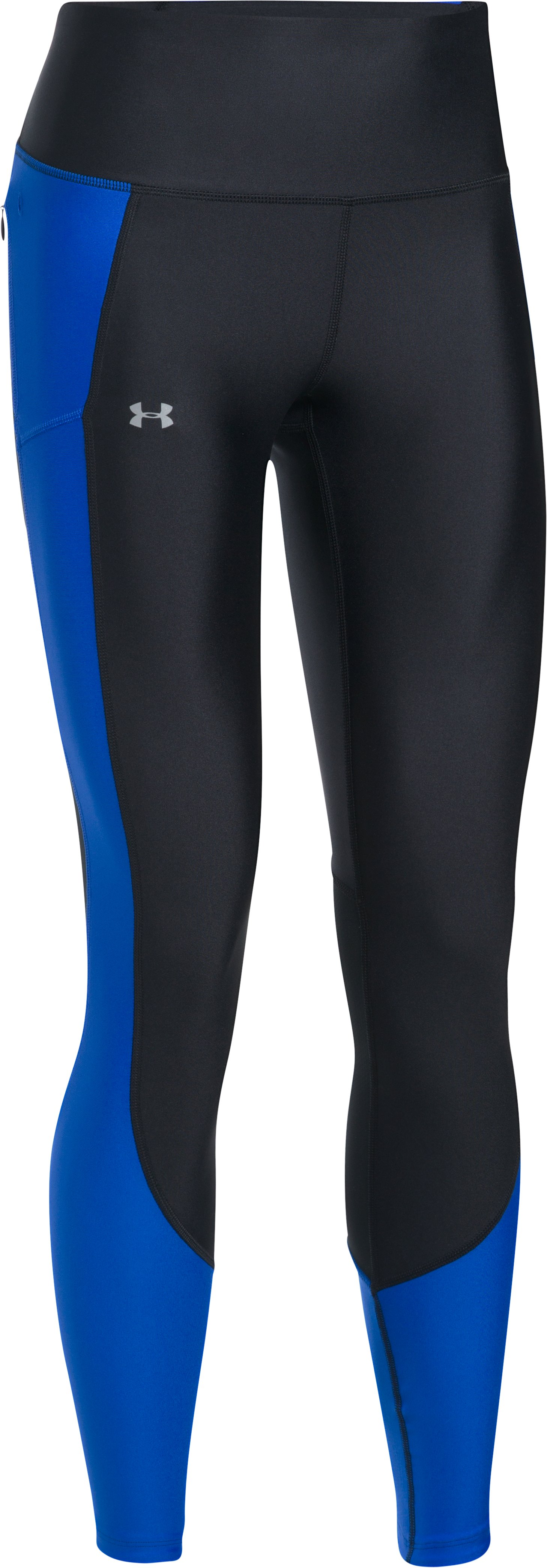Women's UA Run True BreatheLux Leggings, Black ,