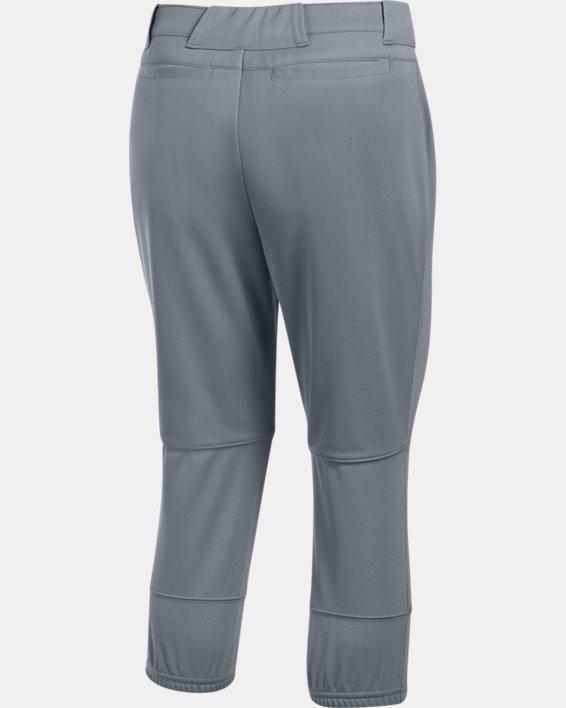 Women's UA Strike Zone Pants, Gray, pdpMainDesktop image number 4