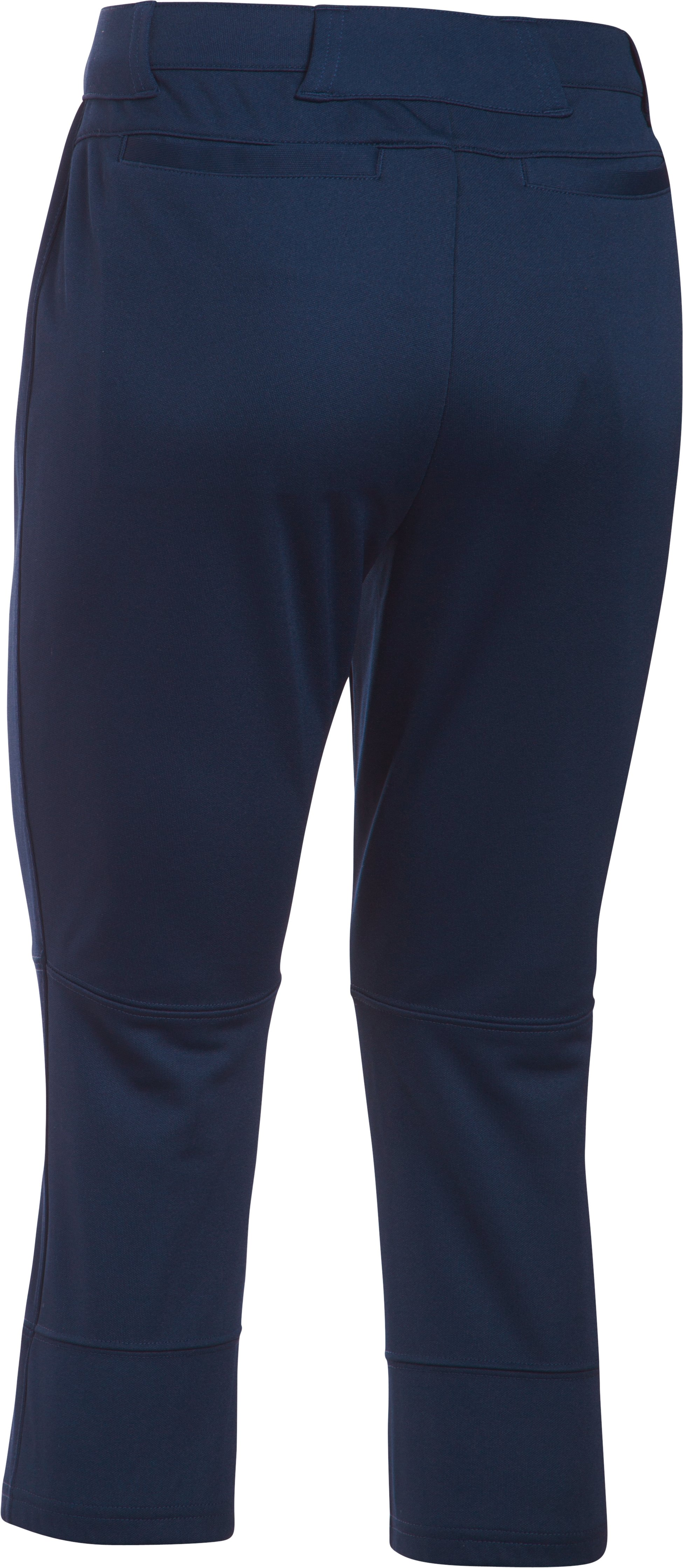 Women's UA Strike Zone Pants, Midnight Navy, undefined