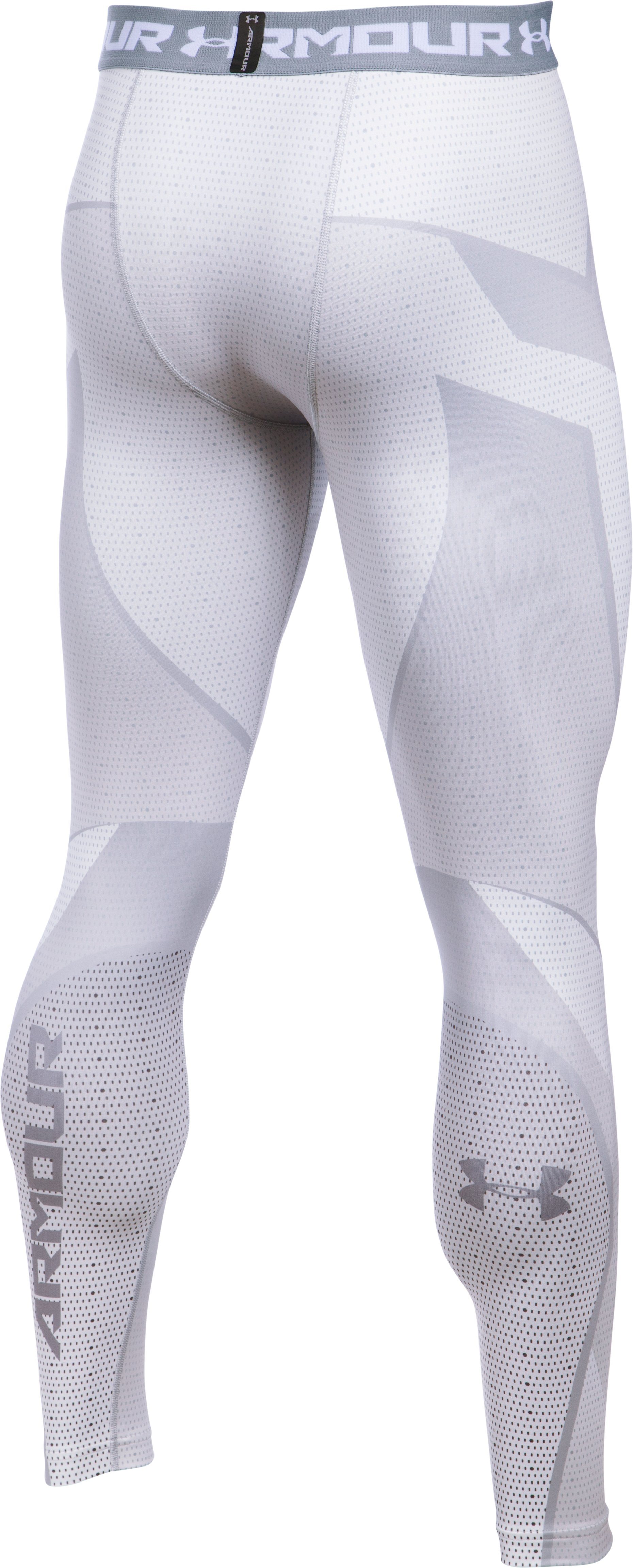 Men's ColdGear® Armour Sublimated Leggings, White,
