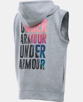 New Arrival  Girls' UA Favorite Fleece Vest LIMITED TIME: FREE SHIPPING 1 Color $44.99