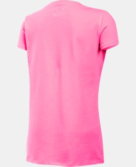 Girls' UA Charged Cotton® T-Shirt LIMITED TIME: FREE SHIPPING 2 Colors $19.99