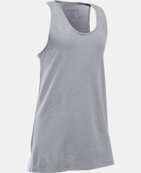 New Arrival Girls' UA Charged Cotton® Tank  1 Color $19.99