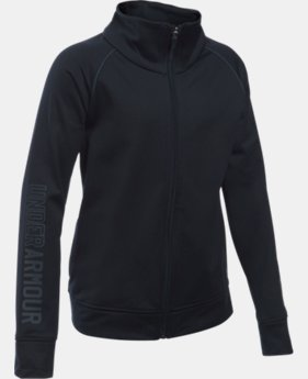Girls' UA Rival Full Zip Jacket  1 Color $17.99 to $22.49