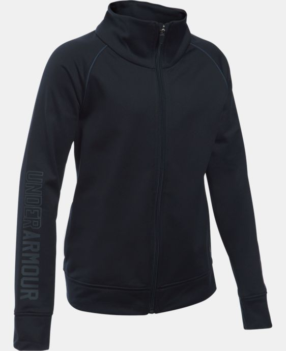 New Arrival  Girls' UA Rival Full Zip Jacket  1 Color $34.99