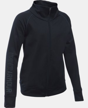 Girls' UA Rival Full Zip Jacket   $39.99