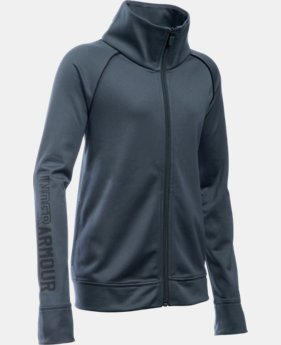 New Arrival Girls' UA Rival Full Zip Jacket   $39.99