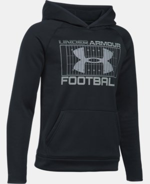 New Arrival Boys' UA Storm Football Hoodie  1 Color $49.99